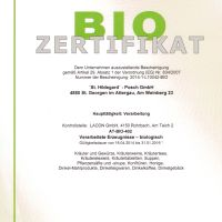 Certifikát Posch - BIO